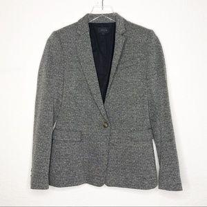 Theory | Women's Gray One Button Blazer Sz 4